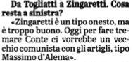 Carlo Rossella su Zingaretti