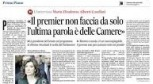 Casellati al Messaggero